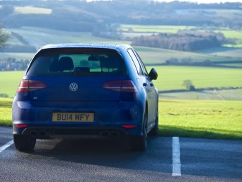 VW Golf R - Rear