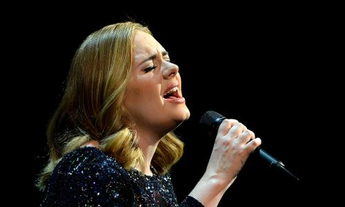 How singing changed between Puccini and Adele   Letters   Music     Adele at the Sportpaleis  Antwerp in June 2016