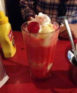 Small Of Fireball Ice Cream