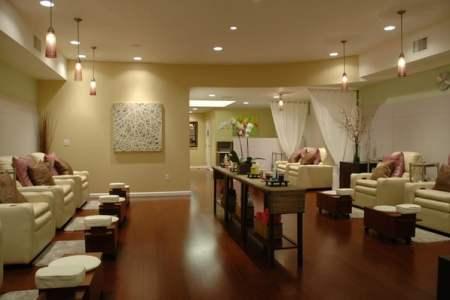 pin nail salon interior design on pinterest