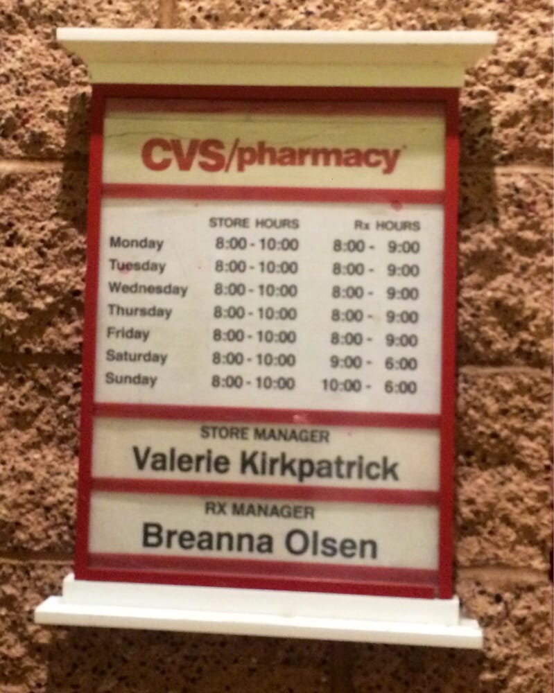 Large Of Cvs Photo Hours