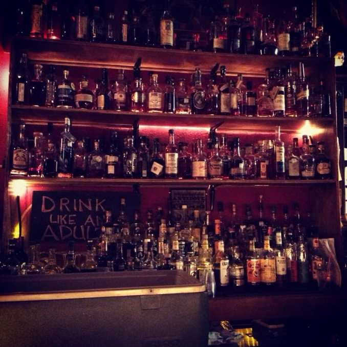 Poison Girl - Houston, TX, United States. Bourbon wall.