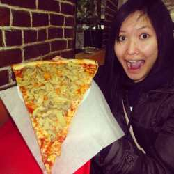 Nifty Larger Than My Still Managed To World S Largest Delivery Pizza World S Biggest Pizza 2017 Photo Koronet Pizza New United Largest Pizza Slices Largest Pizza Slices