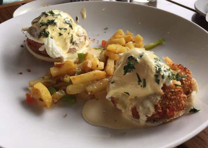 The Union Kitchen - Houston, TX, United States. Lobster and crab Benedict
