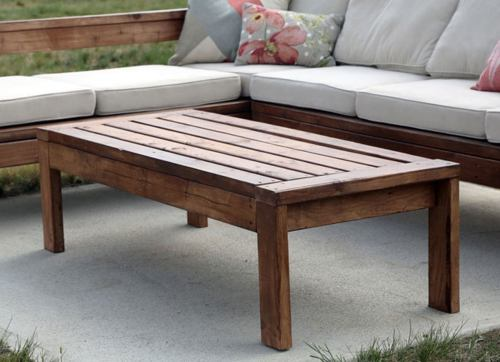 Medium Of Outdoor Coffee Table