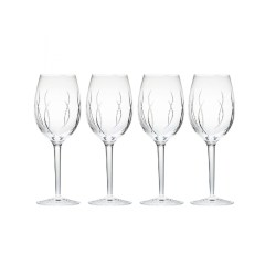 Small Crop Of Waterford Crystal Wine Glasses