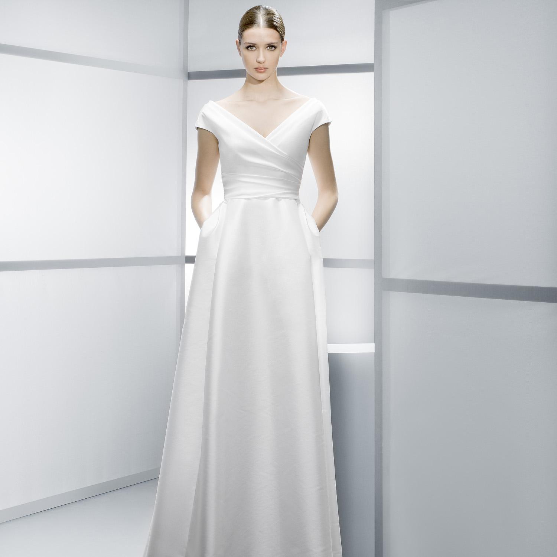 six perfect pocket wedding dresses wedding dress with pockets foto Jesus Peiro pocket wedding dresses
