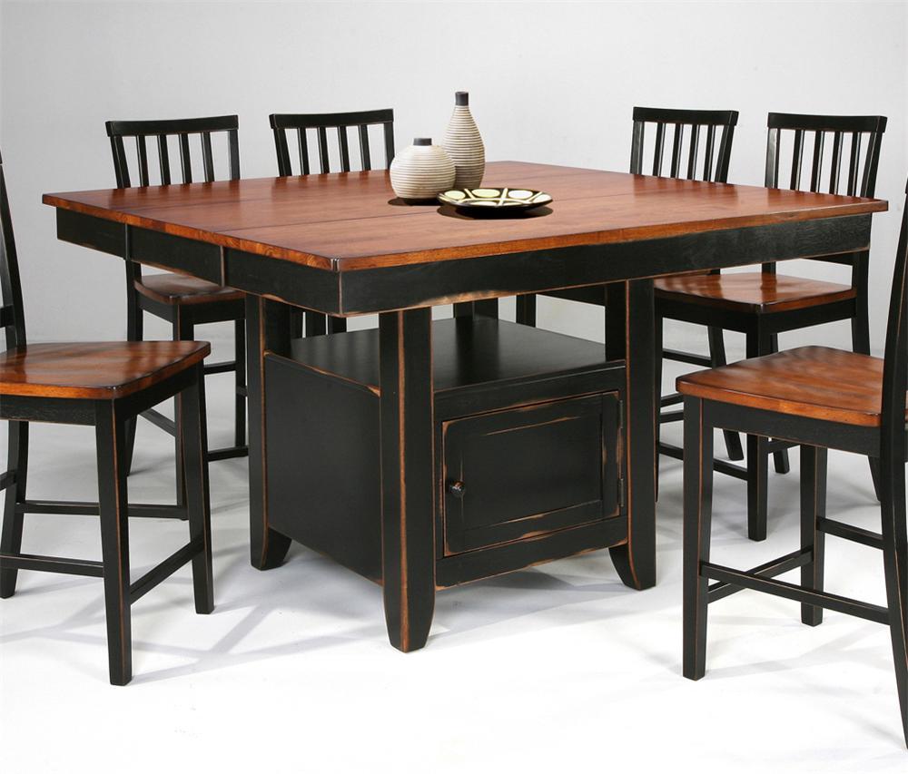 kitchen island tables Kitchen Island Slat Back Stools