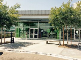 The new El Monte Bike Hub features secure, 24/7 access and 56 bicycle spaces.