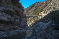 Bridge to Nowhere in the Angeles National Forest. Photo by Steve Hymon.