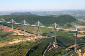 Millau Viaduct, Millau, France. Credit: Wikimedia.