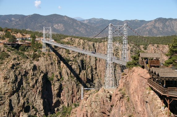 The Royal Gorge Bridge in Canon City, Colorado. Source: Wikimedia.