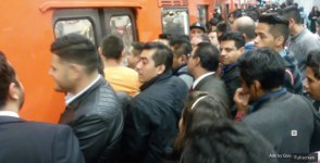 Mexico City subway. Screen grab from video by Marcin and Stephen travels, via YouTube.