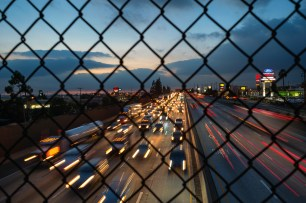 The 210 freeway. Photo by Steve Hymon/Metro.