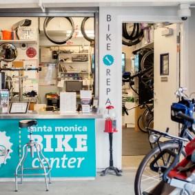 Santa Monica Bike Center. Photo: Candace Wakefield/Metro