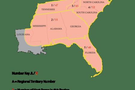 usa 3 southeast map map regionallayers final2017 southeast e1487014541878 3160624e8929b6474846a5dc04f4910b