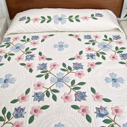 Spring Flowers Quilt Terrific Made With Care Amish Quilts From