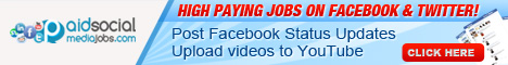 HIGH PAYING JOBS ON FACEBOOK & TWITTER