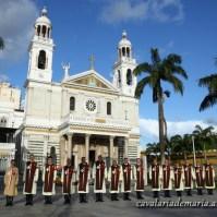 Na Basílica de Nossa Senhora de Nazaré em Belém - PA