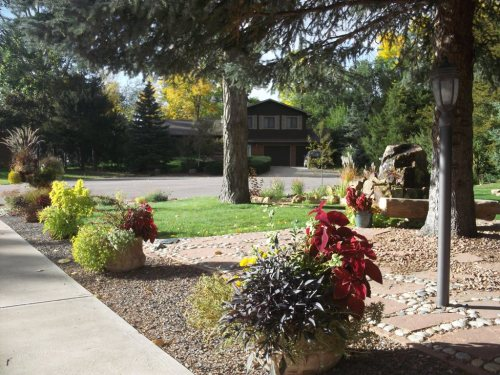 Radiant In Landscape Pics Front Yard Colorado Rock Garden Colorado In Rock Garden