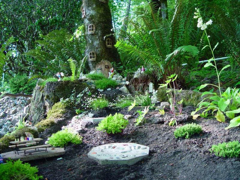 Large Of Outdoor Fairy Gardens