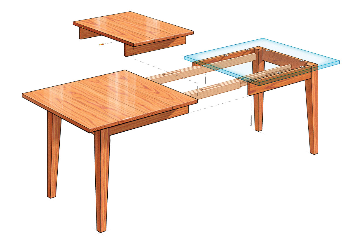 extension dining table diy kitchen table plans Dining table