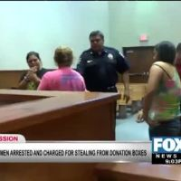 Women Stealing From Donation Boxes Charged