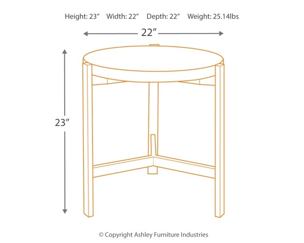 Captivating Lamp Round End Table Metal Legs Franston Light Brown Round End Table Franston Light Brown Round End Table End Tables Round End Table houzz-03 Round End Table