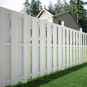 Diverting Dogs Shadow Box Fence Fence Materials Ideas Backyard Fence Backyard Fence