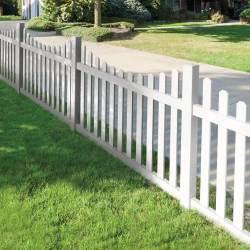 Sturdy Dog Ear Fence Design Fence Materials Backyards Patios Privacy Fencing Ideas Ideas Fencing Ideas
