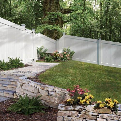 Medium Crop Of Fenced Backyard Landscaping Ideas