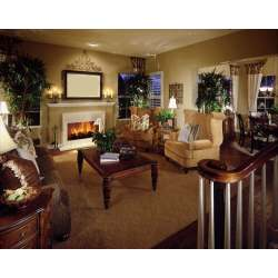 Stylized This Living Room Features Twin Gen Rolled Arm Chairs Facing Brown Floralsofa Over A Lush Living Rooms That Are Richly Furnished Decorated Photos Living Rooms Images Rustic Living Rooms