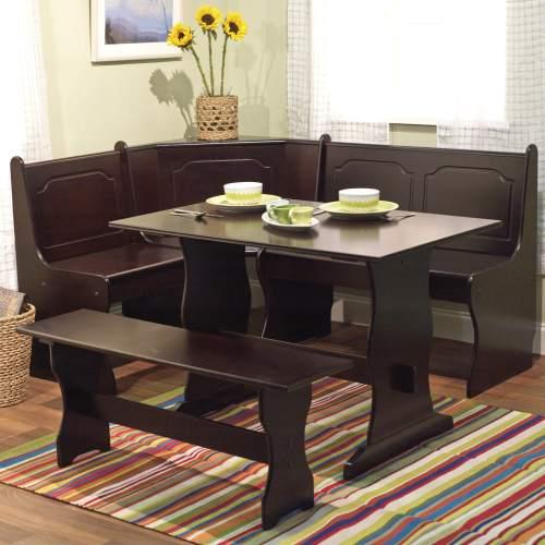 Medium Crop Of Bench Dining Table