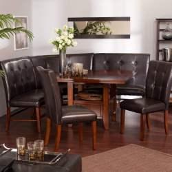 Sunshiny Ravella Six Piece Nook Set Breakfast Nook Furniture Sets Nook Lounge Chair Price Nook Pet Felt Lounge Chair