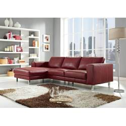 Small Crop Of Modern Leather Sofa