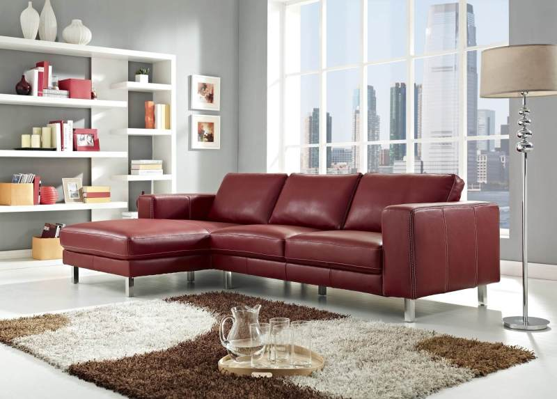 Large Of Modern Leather Sofa