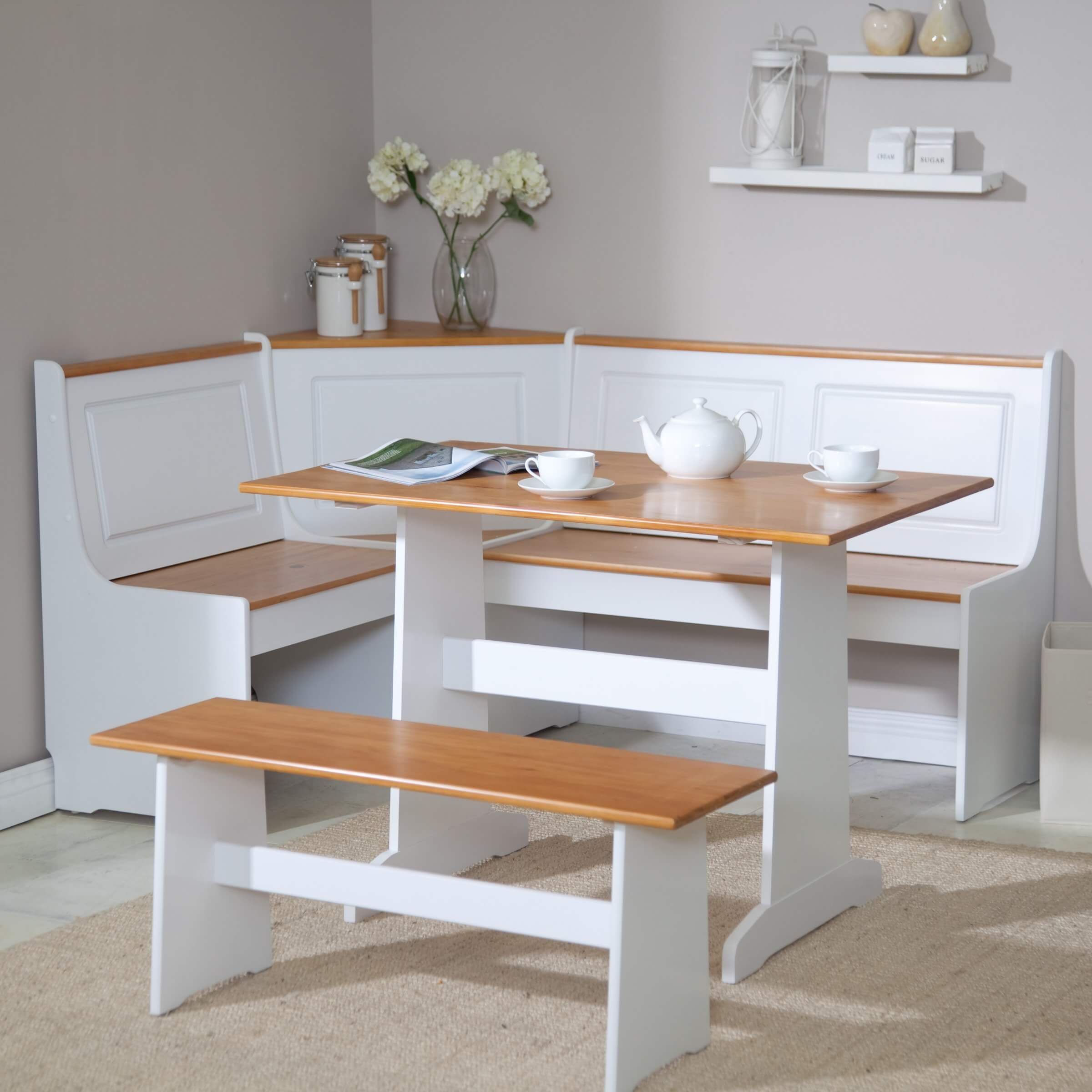 breakfast nook furniture sets kitchen table sets Ardmore Breakfast Nook Set