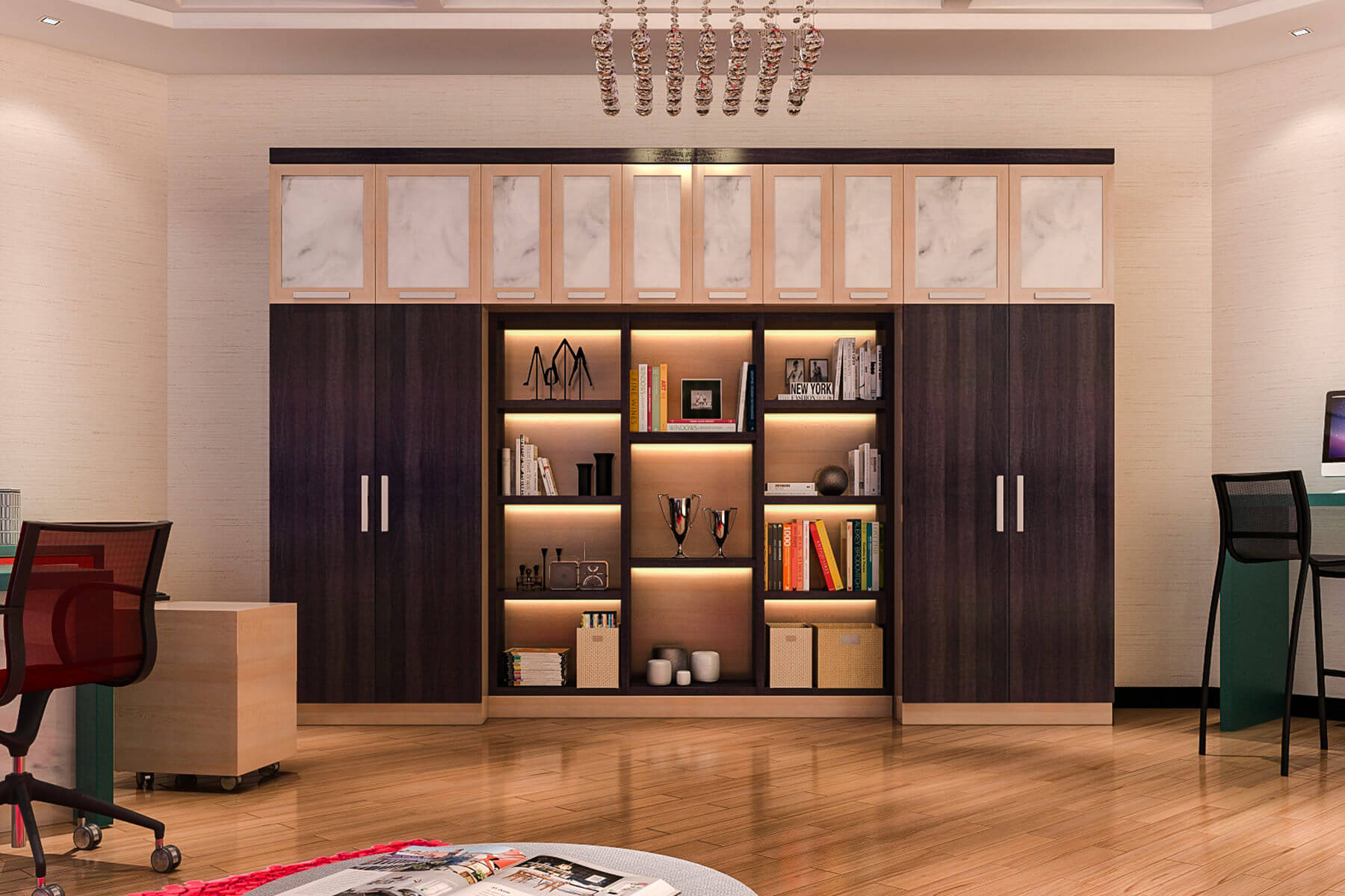 Fullsize Of Home Office Wall Storage