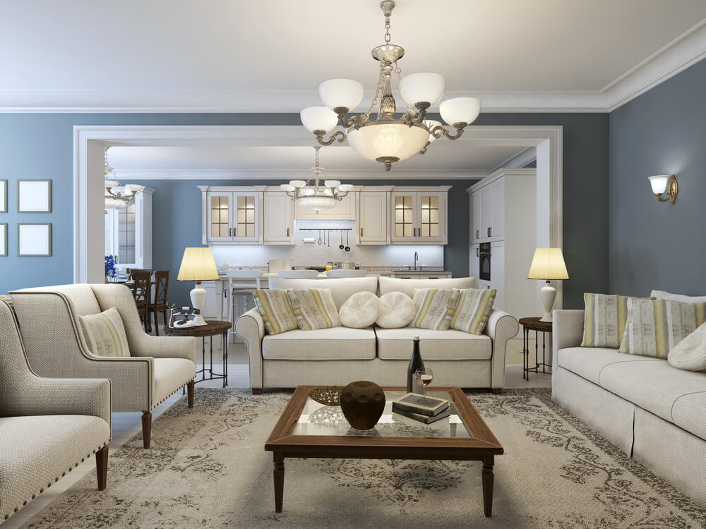 Best Living Room Colors for 2018 Combine grey  blue and browns to give your room a relaxing aura as the  colors