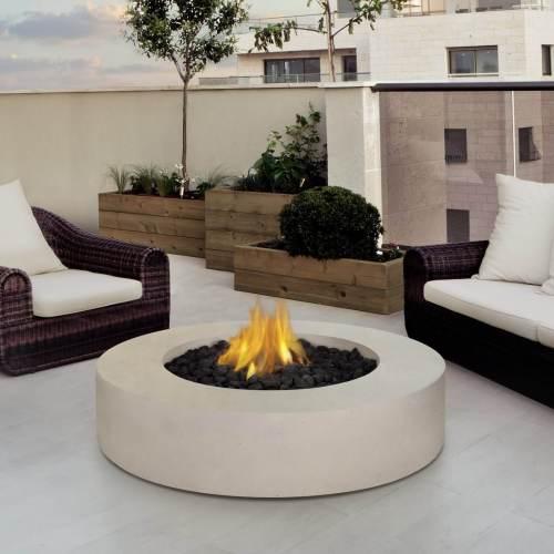 Medium Of Propane Fire Pit Table