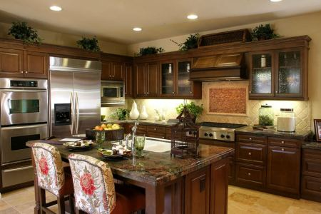 40 kitchens with double wall ovens