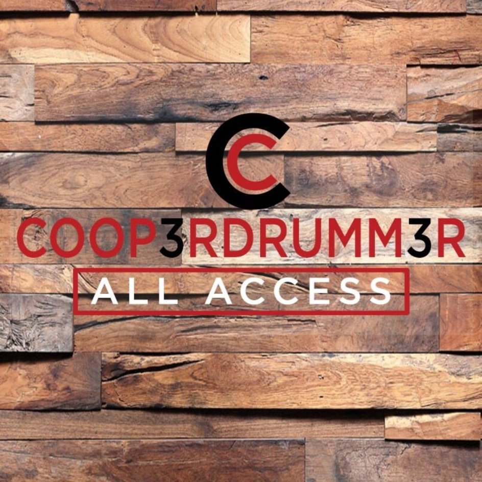 COOP3RDRUMM3R ALL ACCESS (Digital Only) (ONLY 29 LEFT) 000