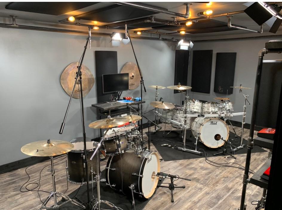 Coop3r Studios Visit - Drum Lesson/Video Shoot