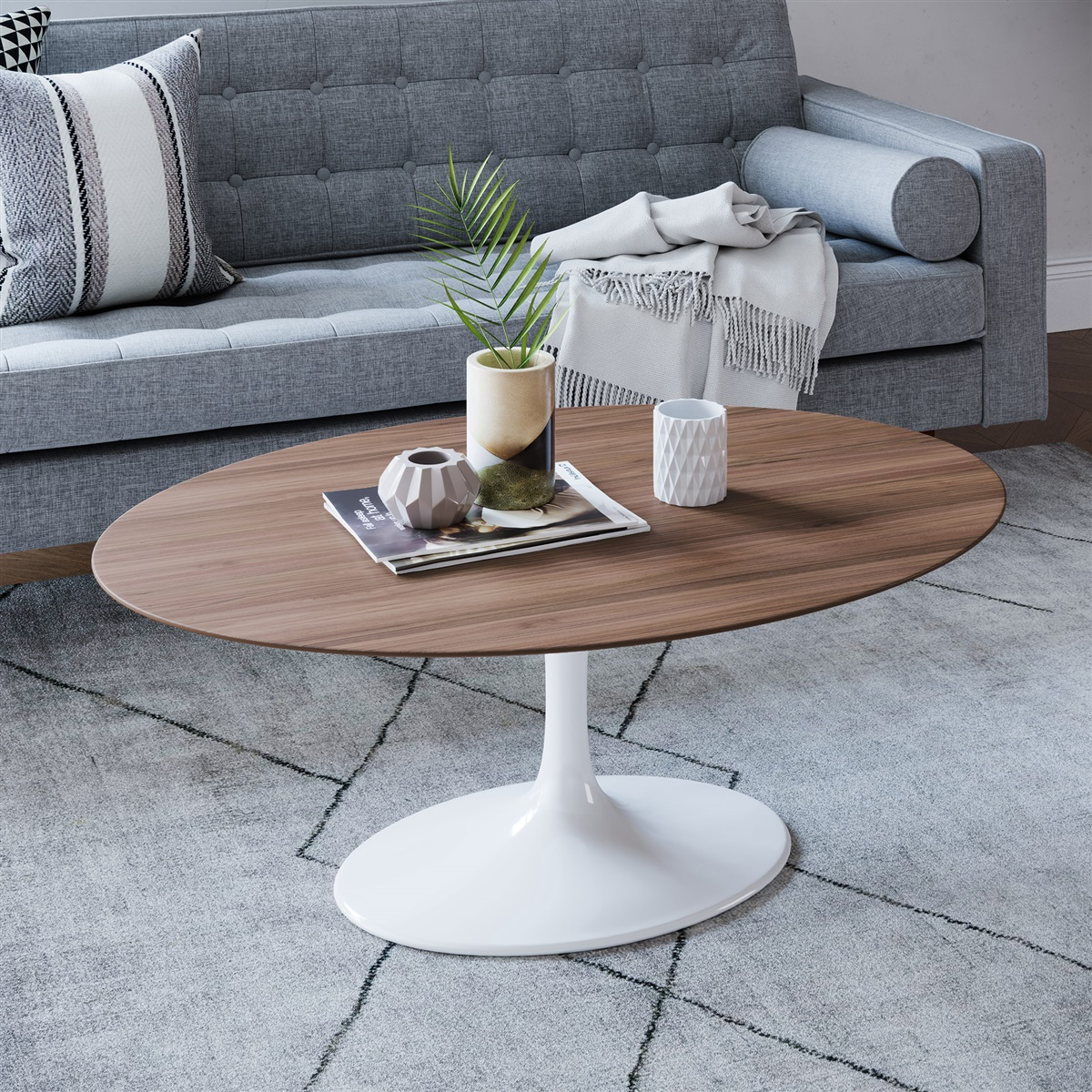 Exquisite Shelf Saarinen Tulip Oval Coffee Table Oval Coffee Table Small Oval Coffee Table houzz-02 Oval Coffee Table