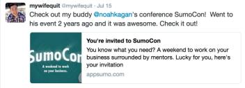 Get your ticket to SumoCon now!