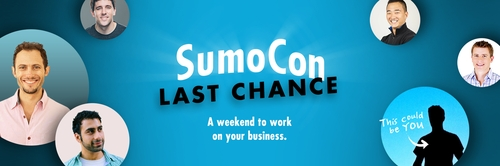 Only 19 tickets left for SumoCon!