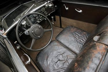 1930 Duesenberg Model J Convertible Coupe Interior