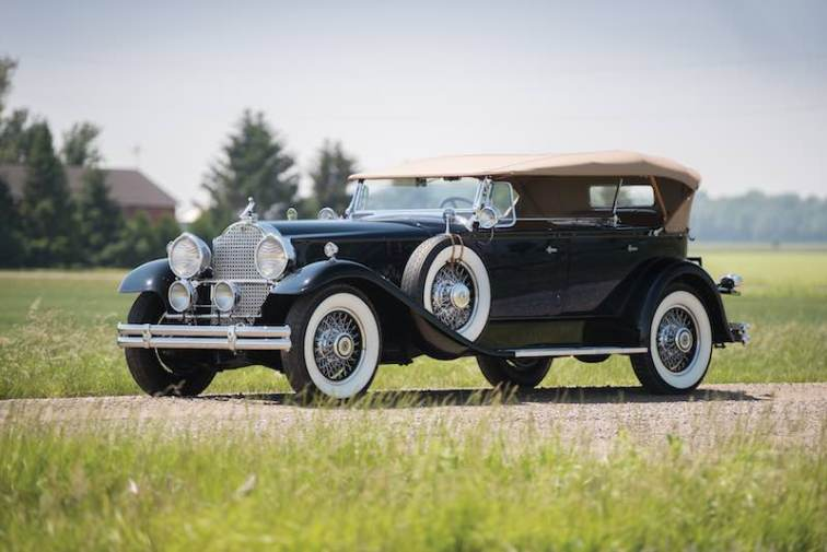 1930 Packard Deluxe Eight Dual-Cowl Sport Phaeton (photo: Darin Schnabel)