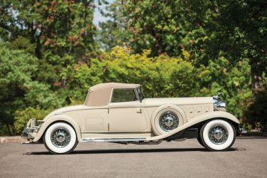1933 Chrysler CL Imperial Convertible Roadster Side