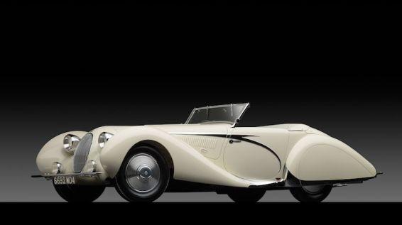 1936 Talbot Lago T150C Cabriolet by Carrosserie Figoni et Falaschi